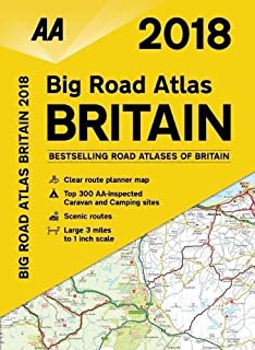 aa big road atlas britain 2018 aa road atlas aa road atlas britain