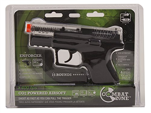 Combate Zone Enforcer .6mm Airsoft-Clear