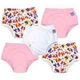 Bambino Mio, Potty Training Pants, Mixed Girl Pink Elephant, 18-24 Months, 5 Pack