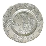 ChargeIt! By Jay Vanessa Charger Plate, Silver