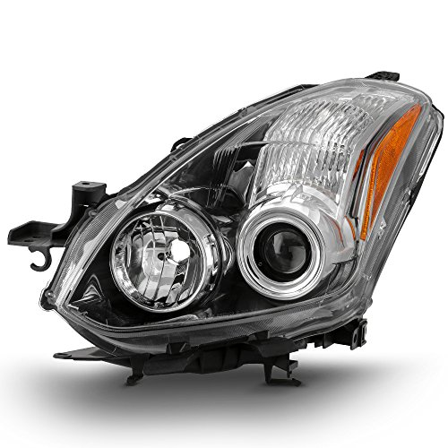 10 Nissan Altima Coupe - ACANII - For 2010-2013 Nissan Altima 2-Door Coupe Halogen Projector Replacement Headlight Headlamp - Driver Side Only