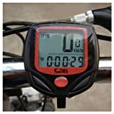 Waterproof Bicycle Bike Cycle Cycling Digital LCD Computer Speedometer Odometer