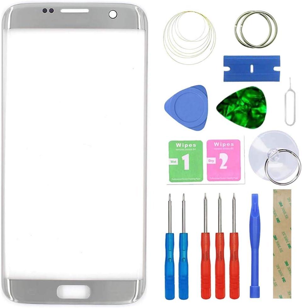 MovTEK Pantalla Repuesto Cristal Tactil Frontal Original para Samsung Galaxy S7 Edge SM-G935F G935FD 5.5