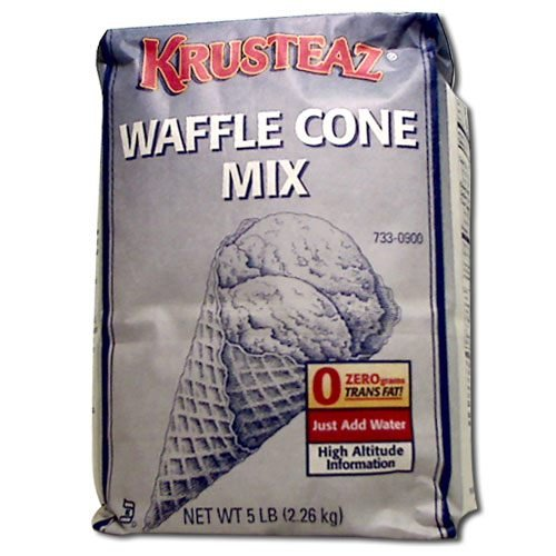 Continental Mills Krusteaz Waffle Cone Mix, 5 Pound -- 6 per case. (Continental Mills)