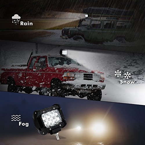 LED-Light-Bar-2-Pack-36W-5500-Lumens-Cree-LED-Spot-Light-Off-Road-Driving-Fog-Light-for-Jeep-SUV-ATV-UTV-Boat-Motorcycle-Waterproof-2-Years-Warranty