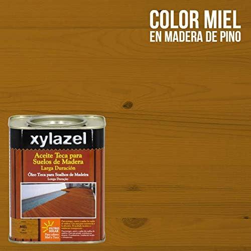 xylazel 0631103 Aceite teca suelos, Miel: Amazon.es: Bricolaje y ...