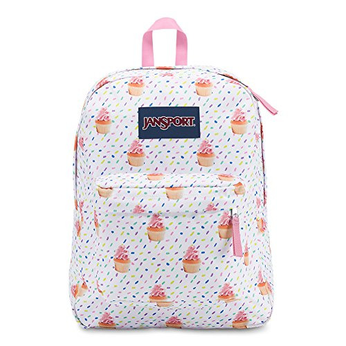 Cake Look (JanSport Superbreak Backpack - Cupcakes - Classic, Ultralight)