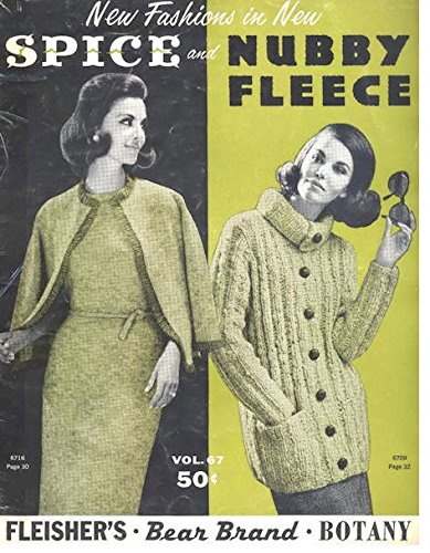 a1e744a42 Image Unavailable. Image not available for. Color  Vintage 1960s knitting  pattern ...