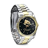 Stainless Steel USMC Semper Fi Watch Gift For Marines by The Bradford Exchange