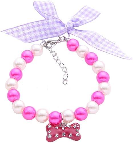 BbearT® Collar de Mascota, diseño de Lazo Ajustable, Collar de ...
