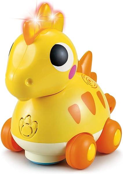 TINOTEEN Baby Musical Toys Dinosaur Crawling Flashing Toddler Baby Toy for 1 2 3 Year Old Boys Girls