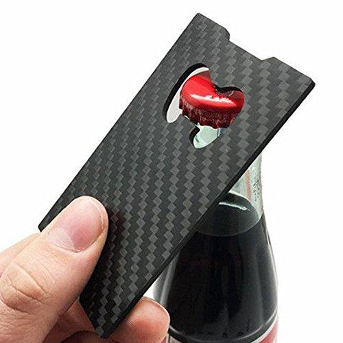 carbon fiber wallet bottle opener - 9