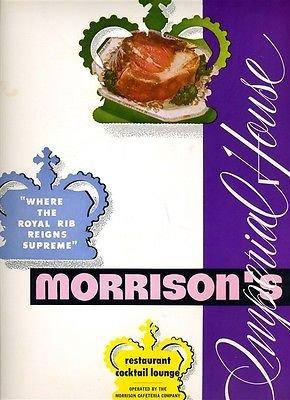 Amazoncom Morrisons Imperial House Restaurants Menu Florida
