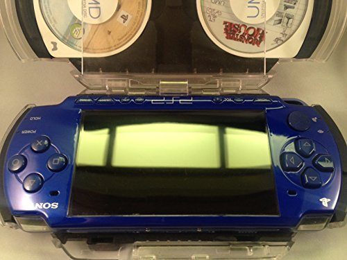 PSP 2001 BLUE SLIM Playstation Portable
