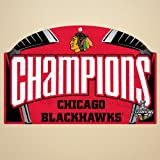 Chicago Blackhawks Official NHL 11 inch x 17 inch Wood Sign by Wincraft