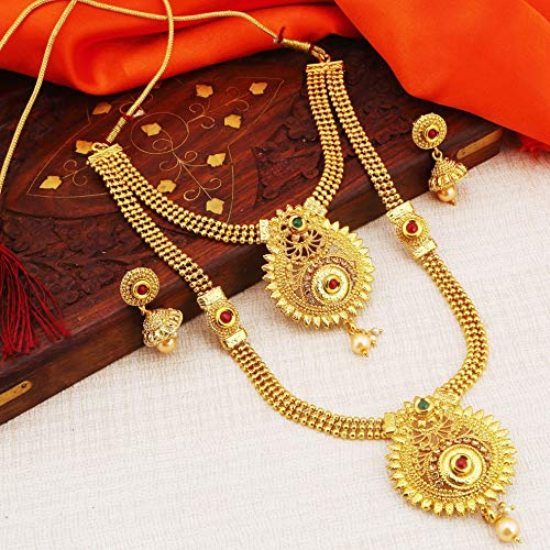Sukkhi Gold Plated Jewellery Set for Women (N72489GLDPH022018)