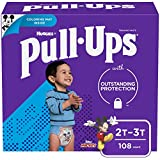 Pull ups Learning Designs Potty Training Pants for Boys, 2t-3t (18-34 lb.), 108 count