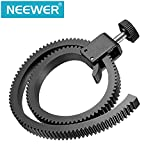 Neewer Adjustable Follow Focus Gear Ring Belt for DSLR Lenses/HDSLR Follow Focus, fits any lens with diameter from 65mm to 105mm