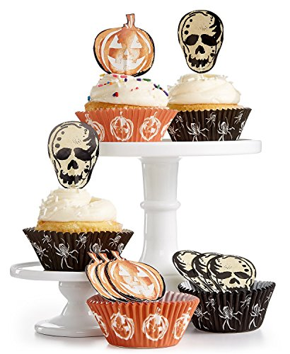 Martha Stewart Halloween Cupcake Liners and Toppers -