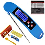 ROOCKE Meat Thermometer Instant Read Cooking Digital Food Probe Thermometer for BBQ/Grill