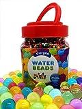 Perles d'eau, perles de perles de gel d'eau cristalline de 10 oz (38 000 perles) pour le remplissage de vase, Spa Refill, jouets sensoriels, décoration colorée et plein air