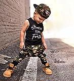 Toddler Baby Boy Clothes Short Sleeve Black T-Shirt