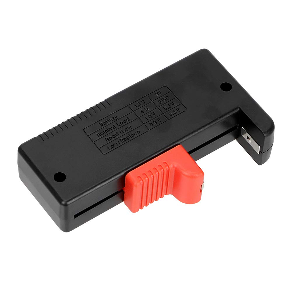 Universal Digital Batterietester Elektronische Batterie Volt Checker f/ür AA AAA 9V Knopfzelle BT-168 Multi Size