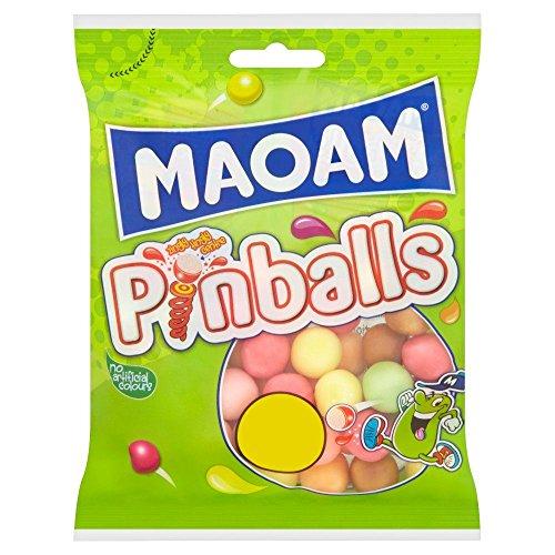 Maoam Pinballs - 180g - Pack of 4 (180g x 4 Packs)