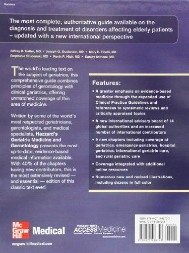 Hazzard's Geriatric Medicine and Gerontology, Sixth Edition (Principles of Geriatric Medicine & Gero