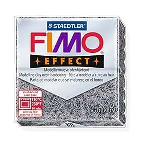STAEDTLER FIMO efecto granito (803) FIMO efecto modelar arcilla de polímero moldeado de color 56 G (10 unidades)