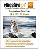 """11"""" X 14"""" 50 Sheets Premium Luster Photo Paper [Office Product]"""