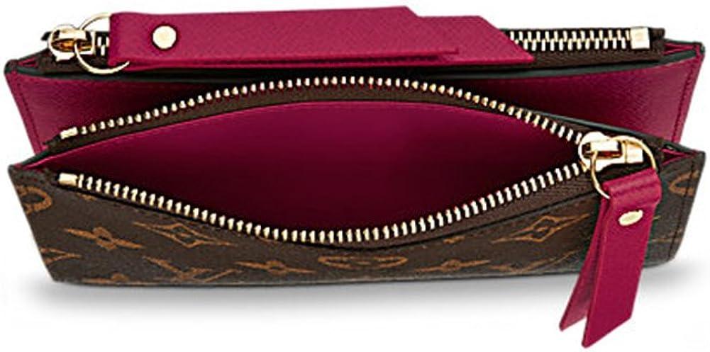 Auténtico Monogram Lienzo Louis VUITTON Adele compacto Cartera artículo: m61271: Amazon.es: Ropa y accesorios