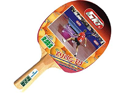 542d8a002ec Buy GKI Kung Fu Table Tennis Racquet Online at Low Prices in India -  Amazon.in