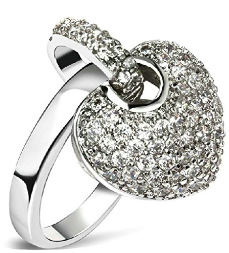 Daesar Gold Plated Wedding Bands Womens Ring Heart