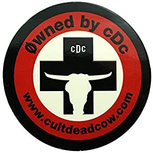 Cult of the Dead Cow Limited Edition Stickers