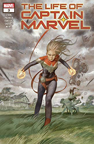 Image result for julian tedesco life of captain marvel cover