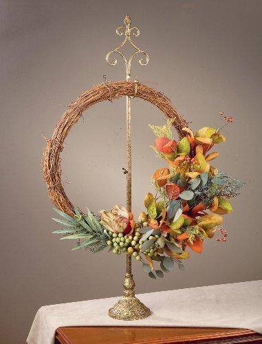 Parisian Wreath Stand - Adjustable Height