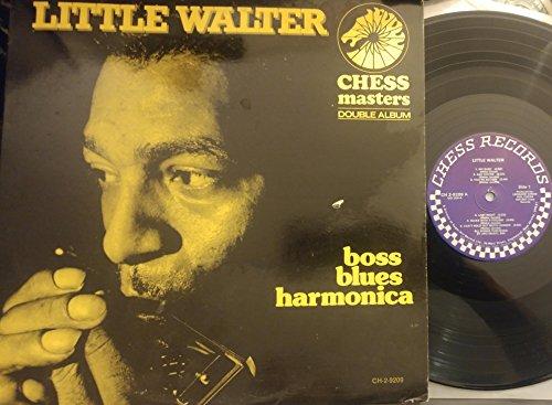 Little Walter ? Boss Blues Harmonica 2 LP Set - Chess