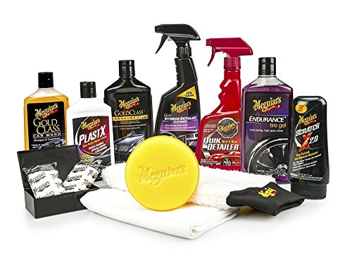 Meguiar's Classic Wash & Wax Kit 123