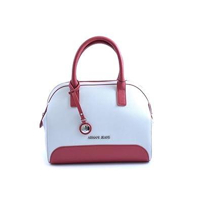 BAG WOMEN ARMANI JEANS SUMMER SPRING 922569BIANCOROSSO  Amazon.co.uk  Shoes    Bags e19edf6631aaa