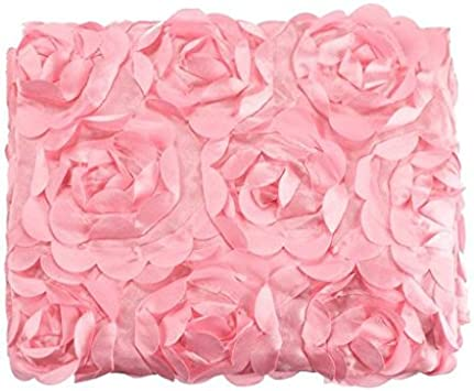 Newborn Photography Props Rug Baby Photo Rose Floral Backdrop Plush Blanket Soft