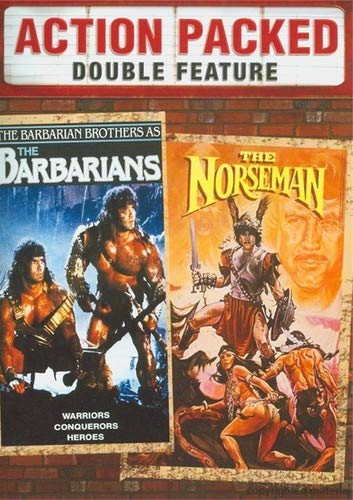 The Barbarians / The Norseman: Double Feature from Shout! Factory / Timeless Media