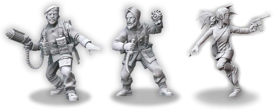 Pack 2 MUH00101 Edge Entertainment Investigadores de los aliados