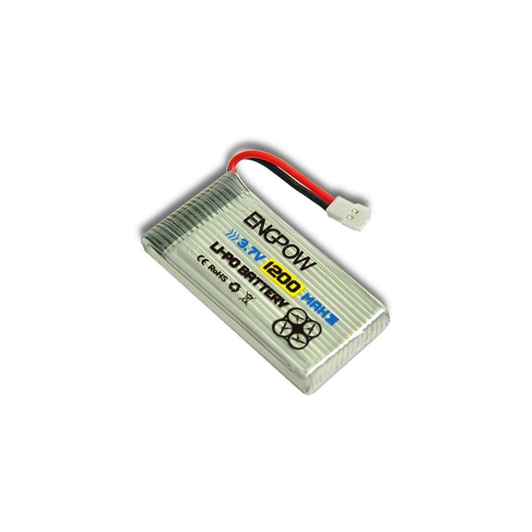 Bescita Batterie 4PC 3.7V 1200mAh 4 en 1 chargeur pour Syma X5 X 5C X5SC RC Quadcopter