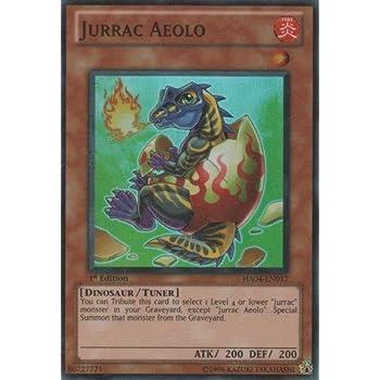 Yu-Gi-Oh! - Jurrac Aeolo (HA04-EN017) - Hidden Arsenal 4: Trishulas Triumph - Unlimited Edition - Super Rare