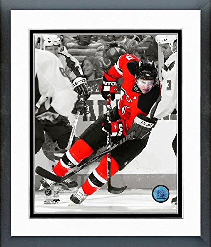 (Zach Parise New Jersey Devils NHL Spotlight Action Photo (Size: 22.5