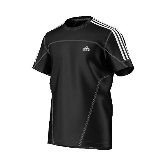 adidas Response - Camiseta para hombre, tamaño S, color negro