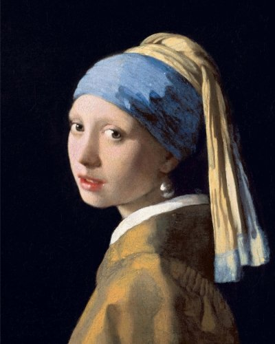 (Bullet Journal: The Girl With A Pearl Earring by Johannes Vermeer: 140 Page 8x10 Dot Grid Journal Notebook)