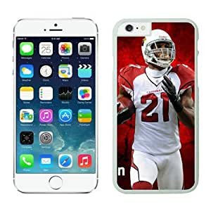 Larry Fitzgerald Case For iPhone 6 Plus Case For iPhone 6 Plus White 5.5 inches