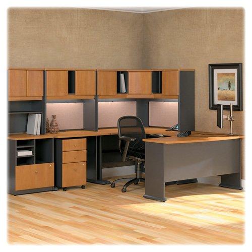 Grey Advantage Corner Desk - Bush Advantage Corner Desk, 47-1/4